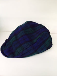 Infant Blackwatch Plaid Cap