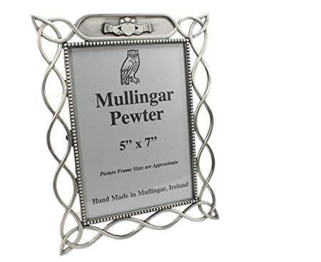 Mullingar Pewter Claddagh Picture Frame