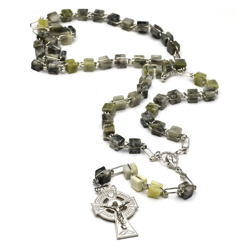Connemara Marble Rosary Beads Links of Eternal Beauty