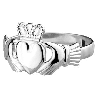 Claddagh Standard Ring Sterling Siver