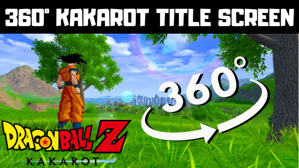 Dragon Ball Z: Kakarot Virtual Reality Title Screen Video