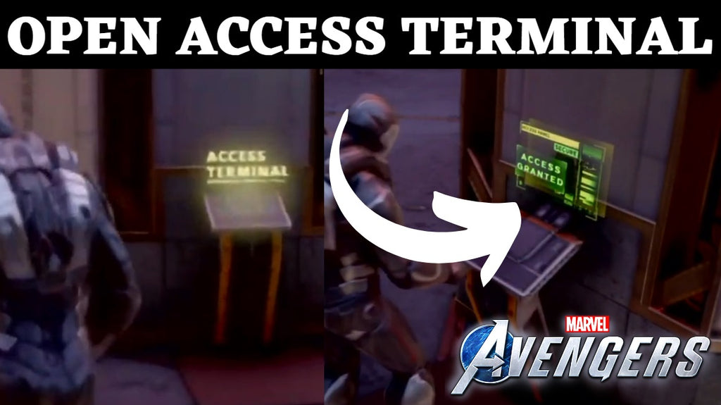 Marvel Avengers Access Terminal - How To Open Door