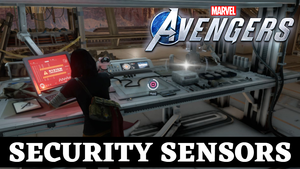 Disable The Security Sensors Marvel Avengers - Hello Old Friend Quest Guide Location