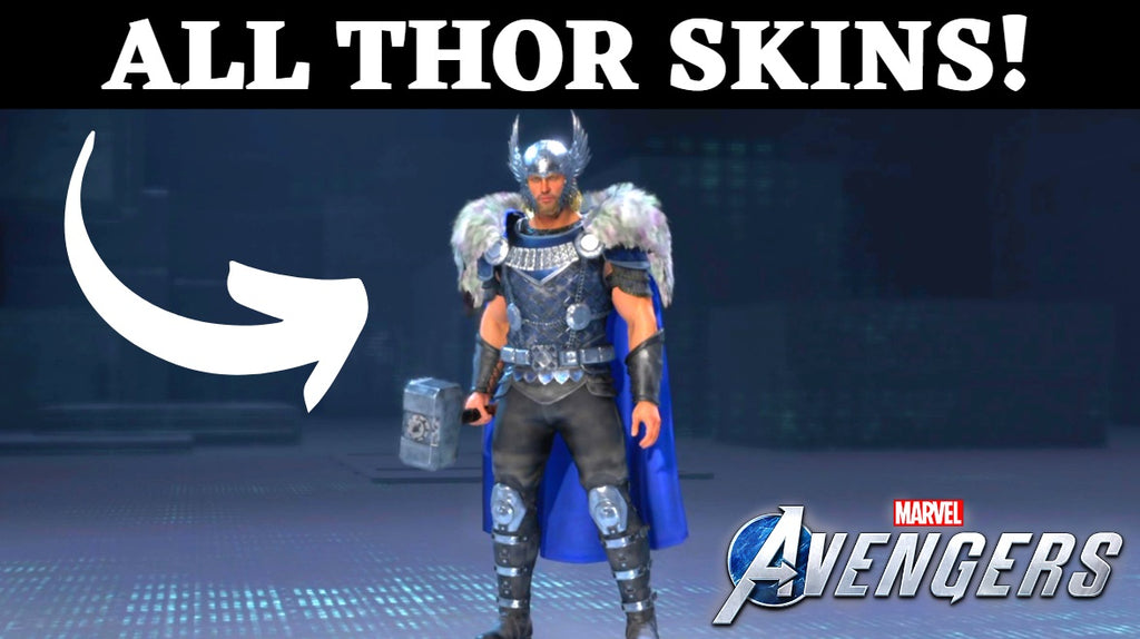 Thor Skins Avengers Game - ALL Legendary Outfits & Costumes!