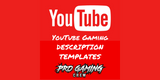 Youtube Gaming Channel Description Template Examples | Pro Gaming Crew