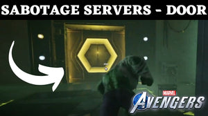 Sabotage Servers Mission - How To Open Door - Marvel Avengers Hulk Iconic Mission: Condition Green