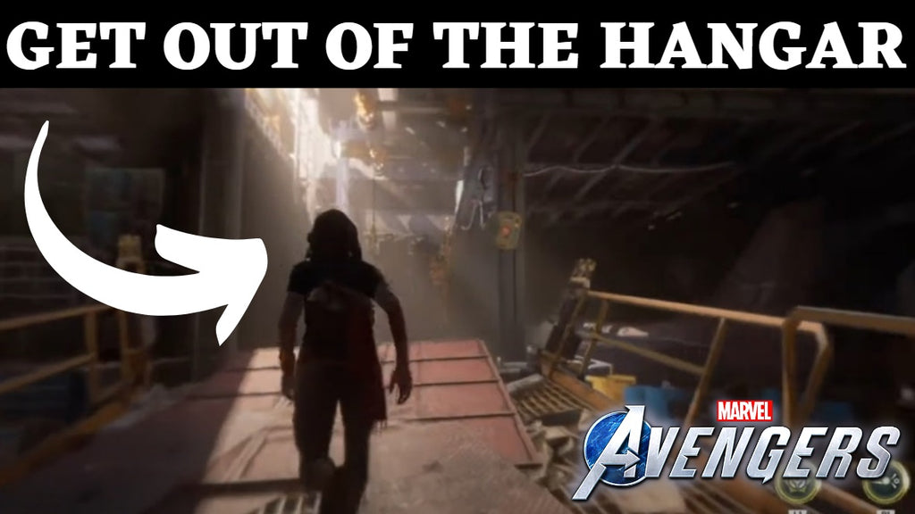 Get Out Of The Hangar And Up To The Top Deck - Marvel Avengers Game The Road Back Quest