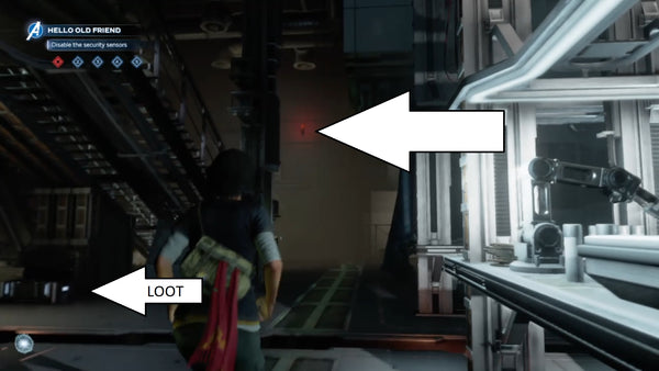 marvel hack the security sensor disable