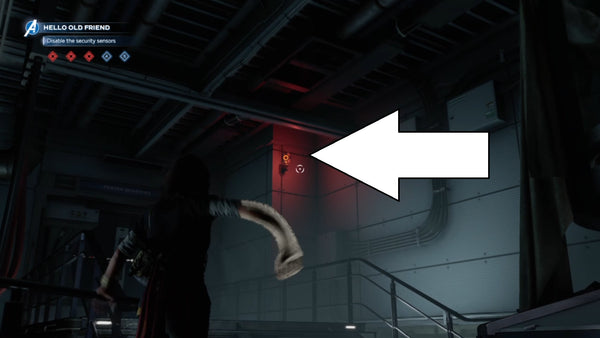 security sensor how to disable marvel avengers