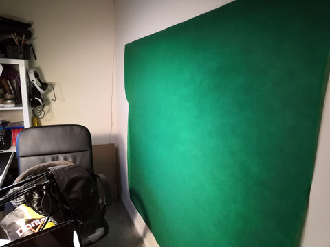 DIY Streamer Setup Twitch Greenscreen