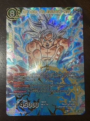 most expensive dragon ball super card