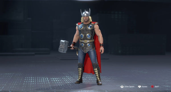 Asgards might thor skin