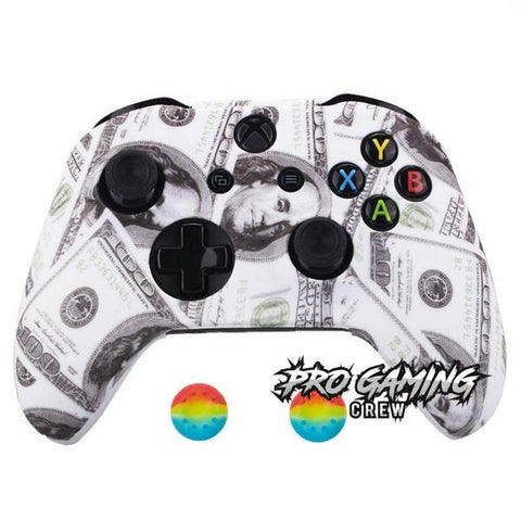 Benjamin Bills Xbox One Controller Cover + 2 Joystick Thumb Grip