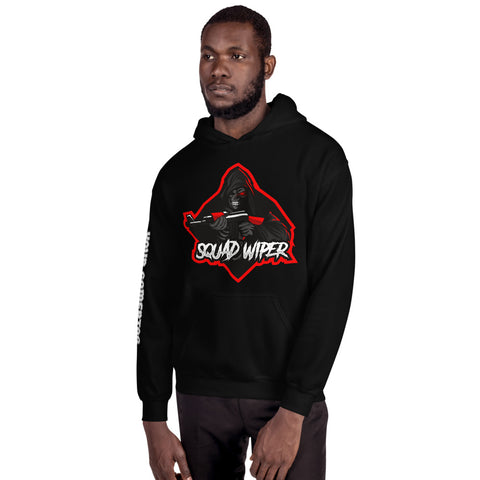 Squad Wiper Custom Gamer Streamer Hoodie