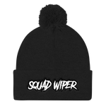 Squad Wiper Gamer Gaming Pom-Pom Beanie