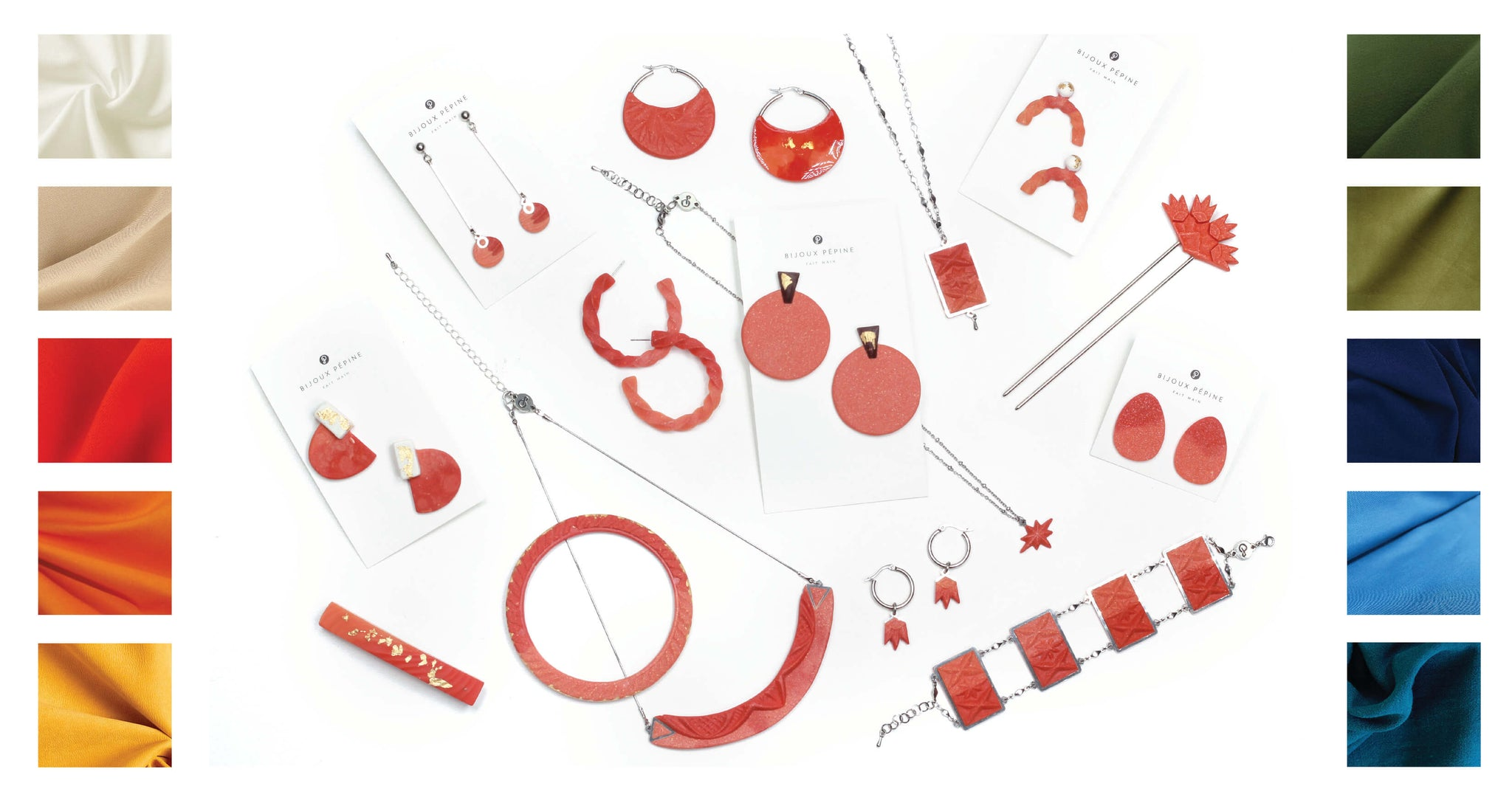 coral red jewelry colour guide