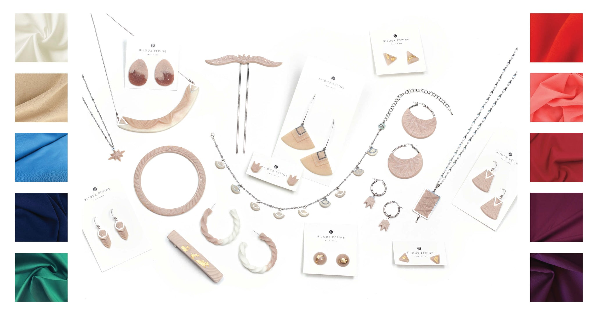 beige jewelry colour guide