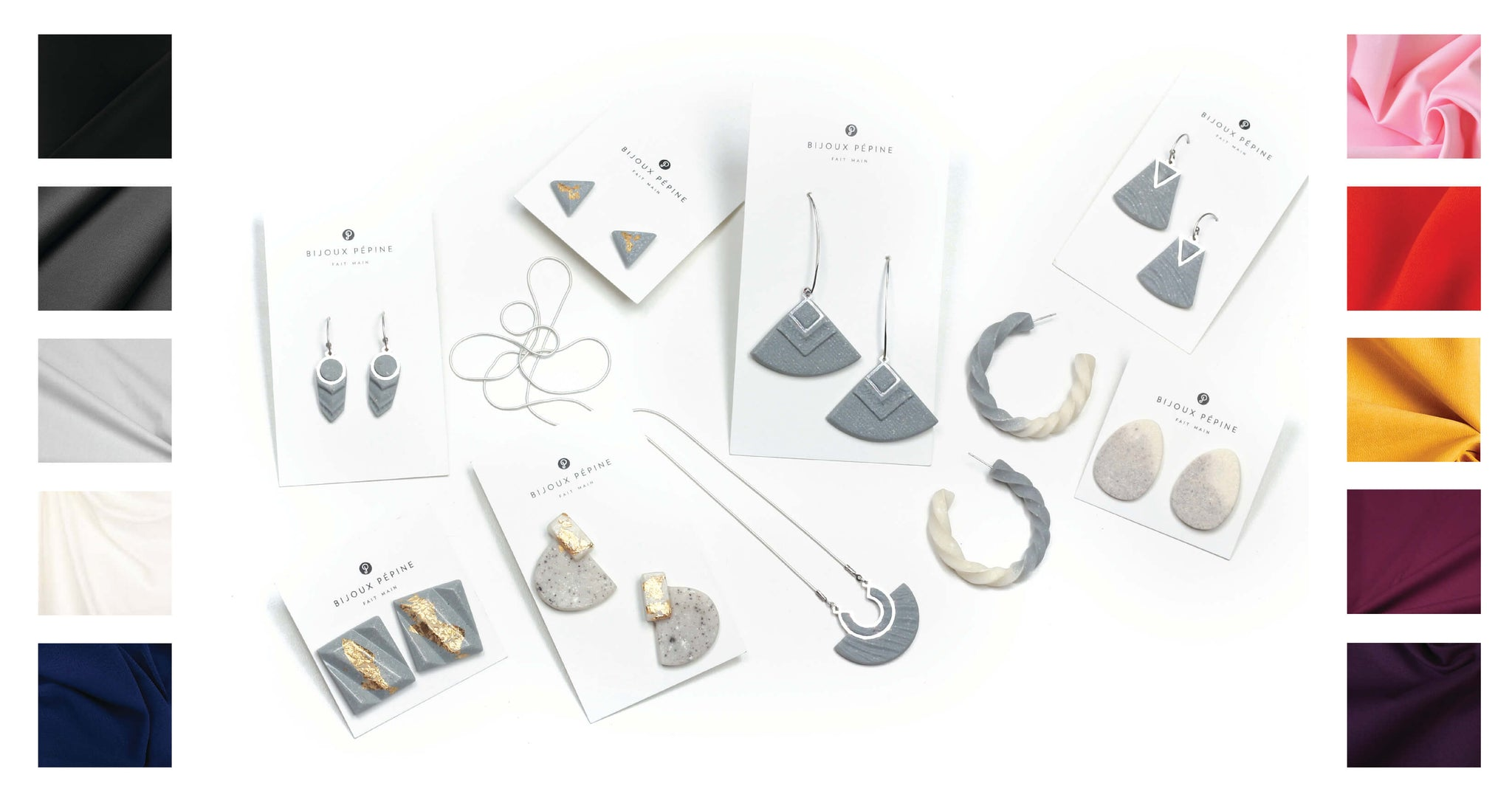 grey jewelry colour guide