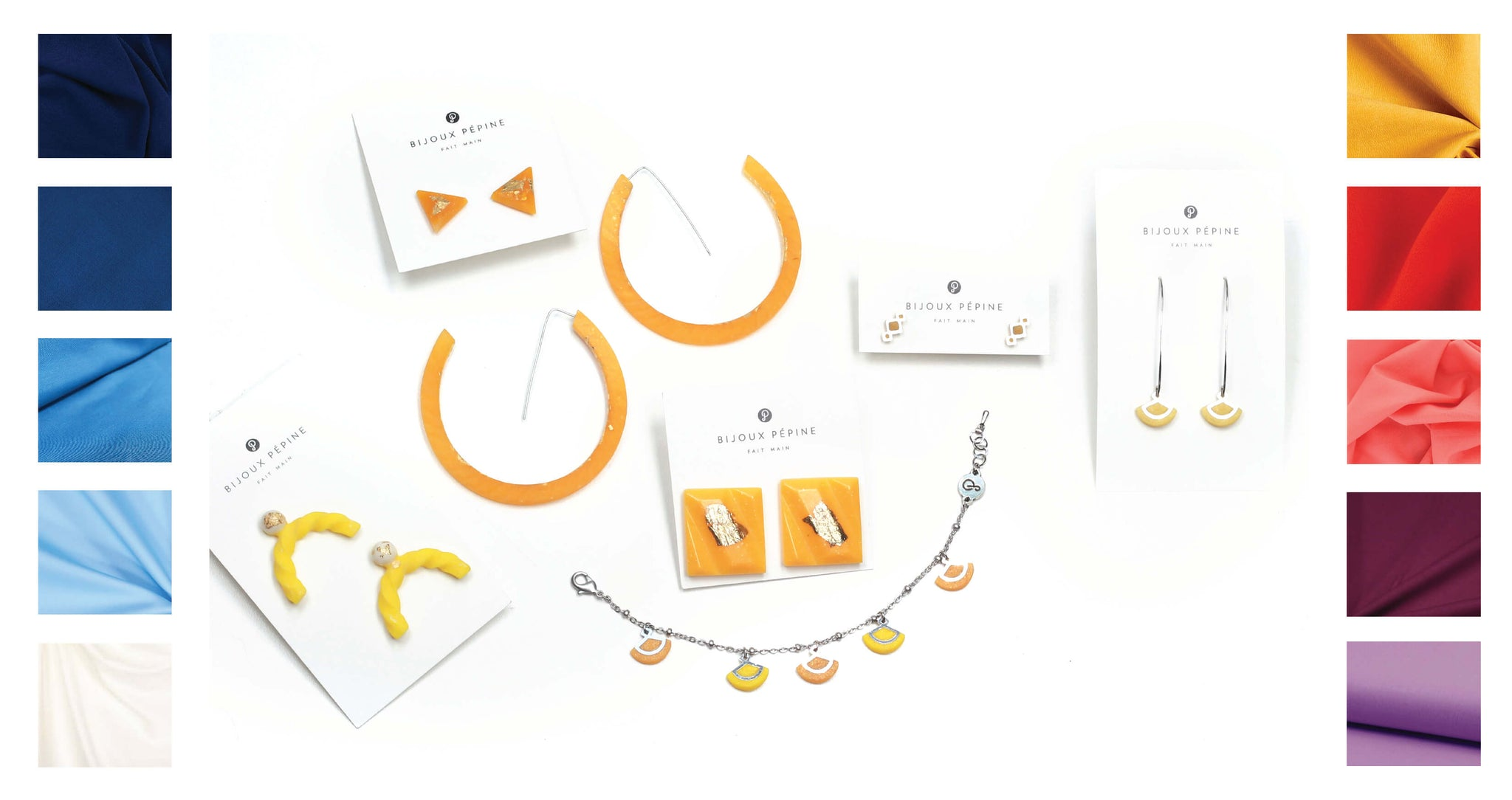 ochre yellow jewelry colour guide