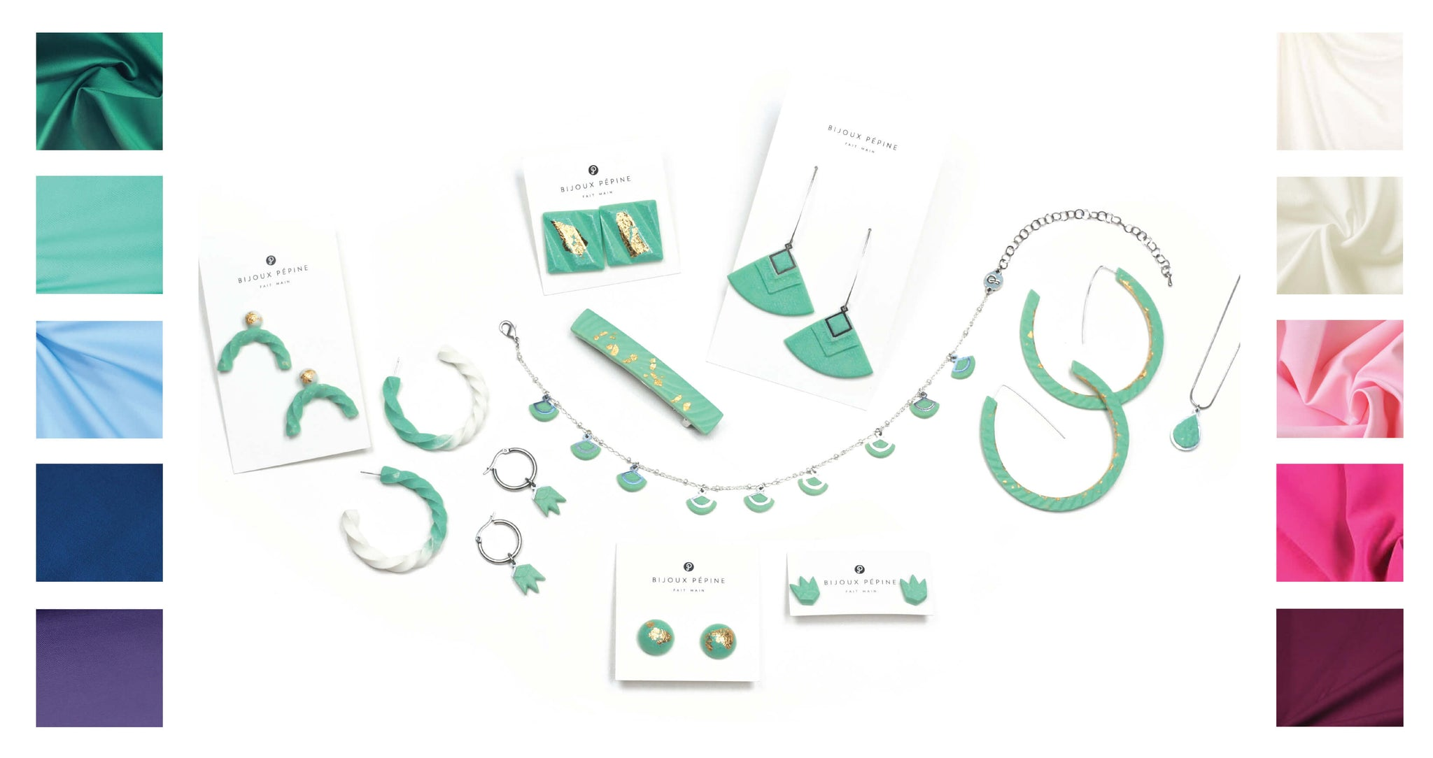 mint green jewelry colour guide