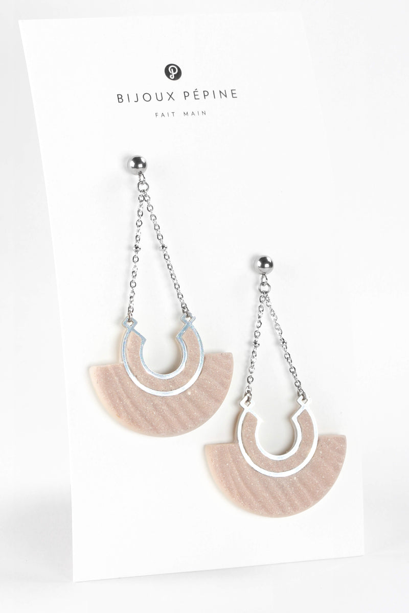 Aurore statement studs earrings
