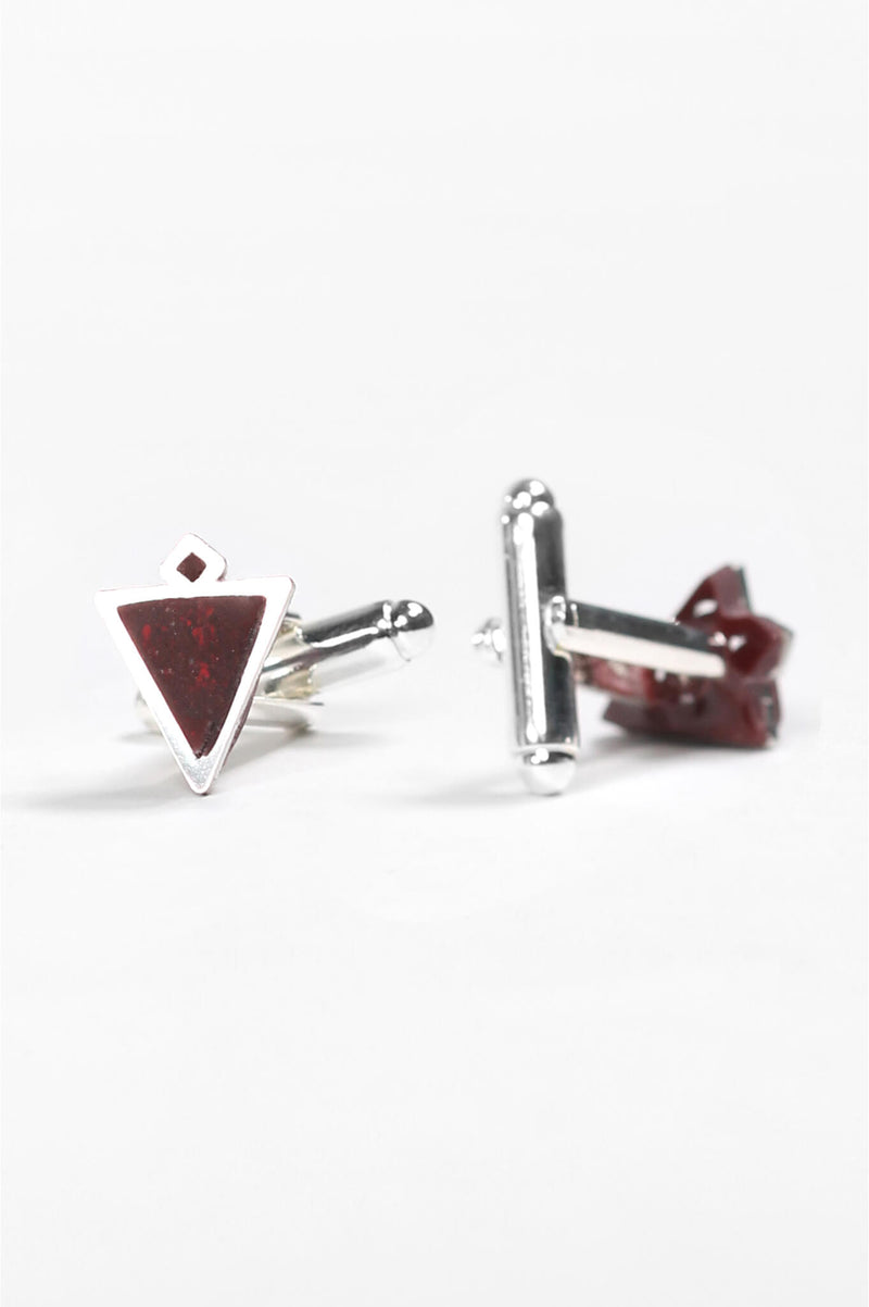 Nil-cufflinks-handmade-montreal-canada-resin-jewelry-hypoallergenic-stainless-steel-burgundy