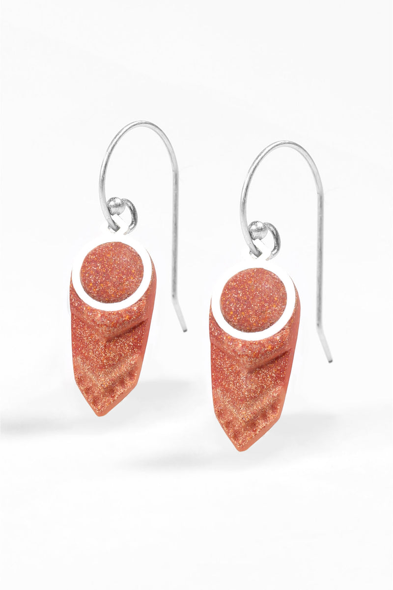Panache-earrings-handmade-montreal-canada-resin-jewelry-hypoallergenic-stainless-coral