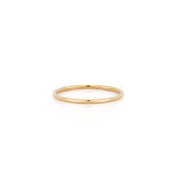 14k Gold Thin Stacker