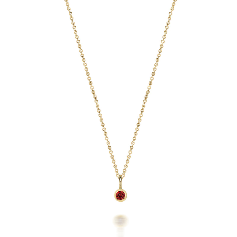 14kt Ruby Necklace