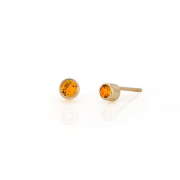 14kt Citrine Gemstone Earrings