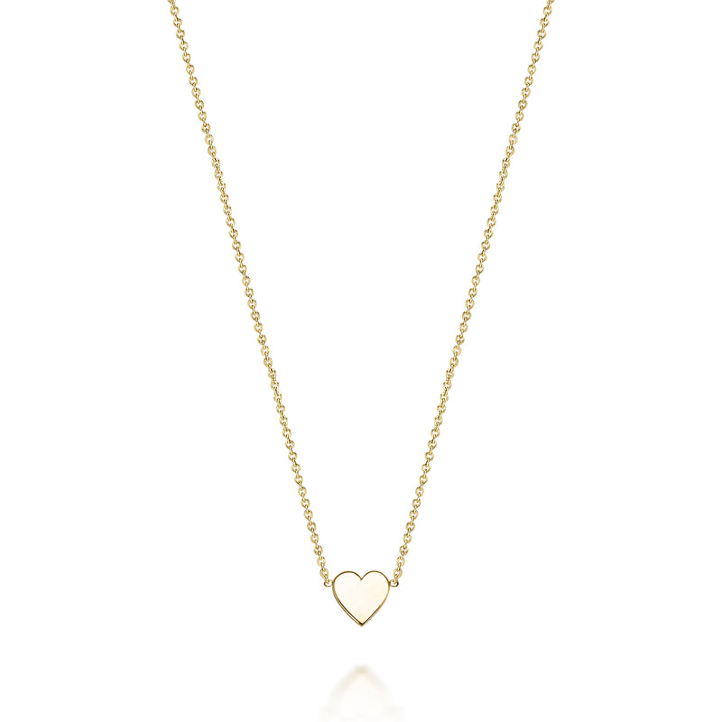 14kt Mini Heart Necklace