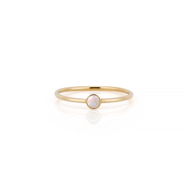 14kt Moonstone Gemstone Ring