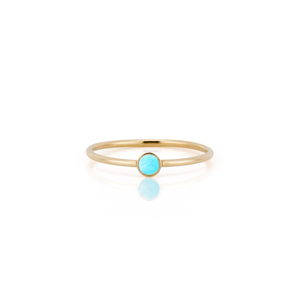 14kt Turquoise Ring