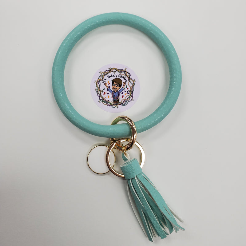MNG Leather Keychain Bangles