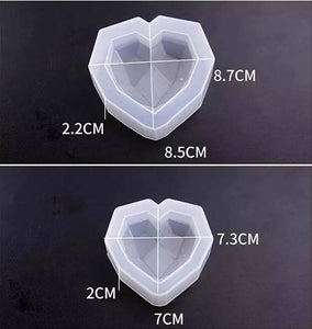 3D Heart Mold Set