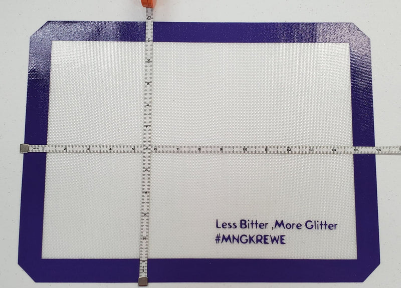 MNG Less Bitter, More Glitter Silicone Mat