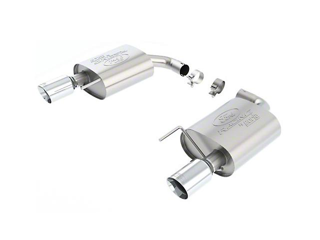 Ford Performance by Borla Touring Axle-Back Exhaust - Chrome Tip ('15-'18 Mustang EcoBoost) Ford