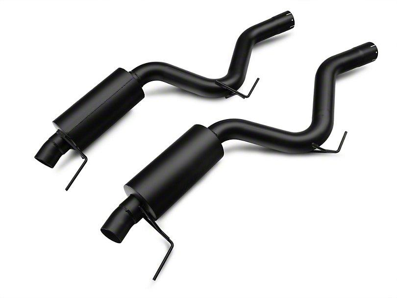 MBRP Black Series Cat-Back Exhaust w/ Y-Pipe - Race Version ('15-'18 Mustang EcoBoost) MBRP
