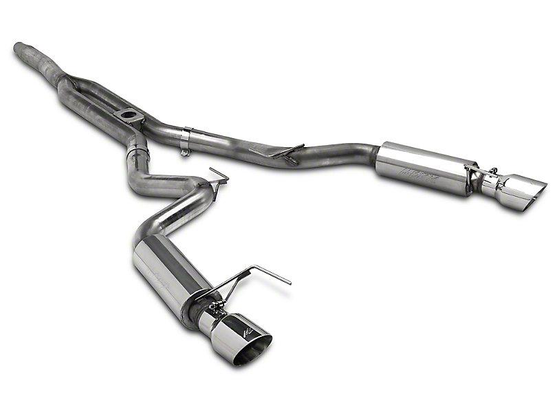 MBRP XP Series Cat-Back Exhaust w/ Y-Pipe - Race Version ('15-'18 Mustang EcoBoost) MBRP