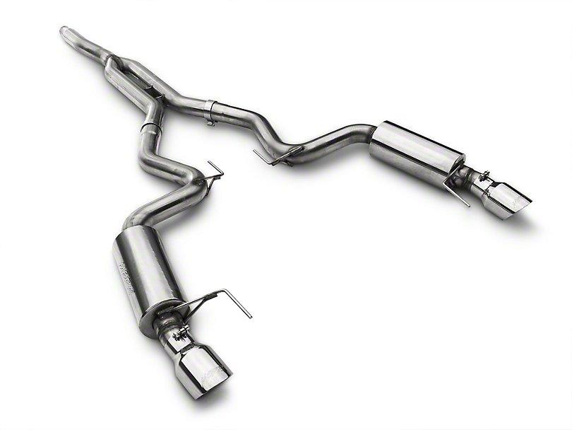 MBRP XP Series Cat-Back Exhaust w/ Y-Pipe - Street Version ('15-'18 Mustang EcoBoost) MBRP