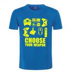 T-shirt original Choose Your Weapon