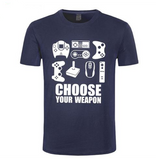 T-shirt original Choose Your Weapon | Kobizz