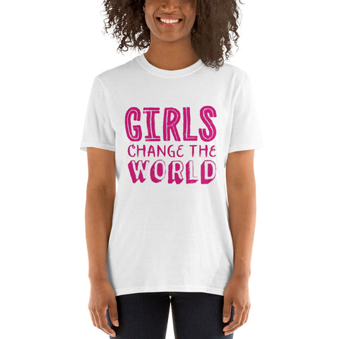 T-shirt original Girls Change The World | Kobizz