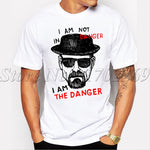 "T-shirt Breaking Bad ""I AM NOT IN DANGER, I AM THE DANGER"" - kobizz"