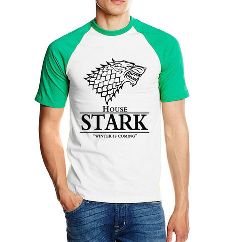 "T-shirt Game Of Thrones ""WOLF'S HEAD"""
