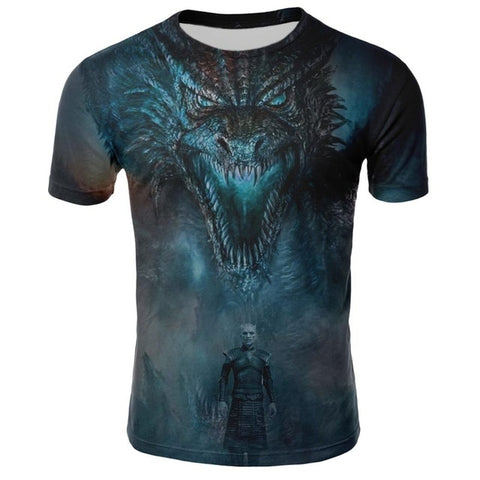 "T-shirt Game Of Thrones ""KING OF THE NIGHT"""