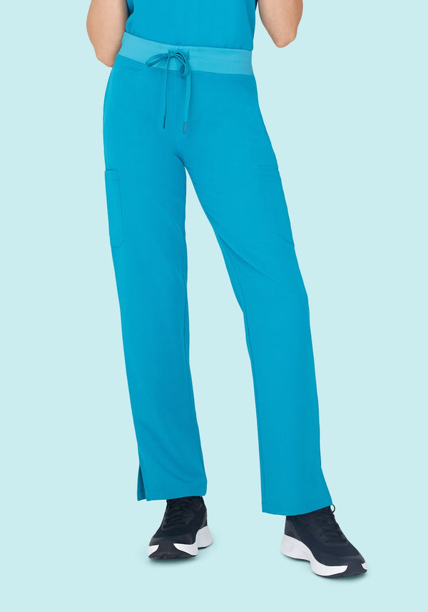 9 Pocket Cargo Pants Teal
