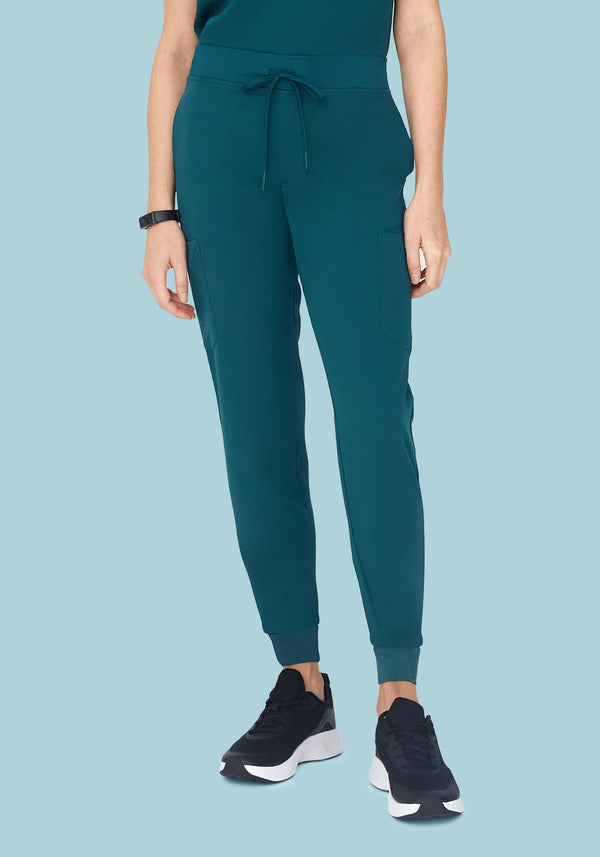 9 Pocket Joggers Caribbean Blue
