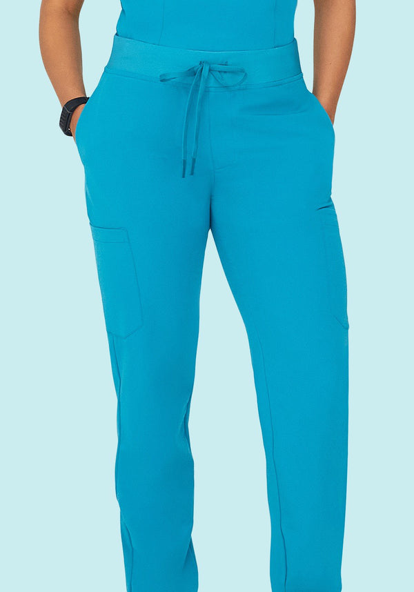 9 Pocket Joggers Teal