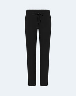 Straight Leg Scrub Pants Black